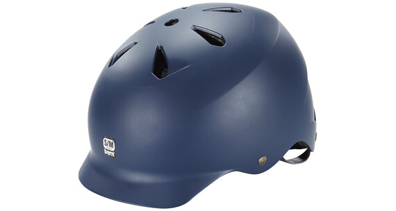 Bern Watts EPS Helm Thin Shell matt-blau